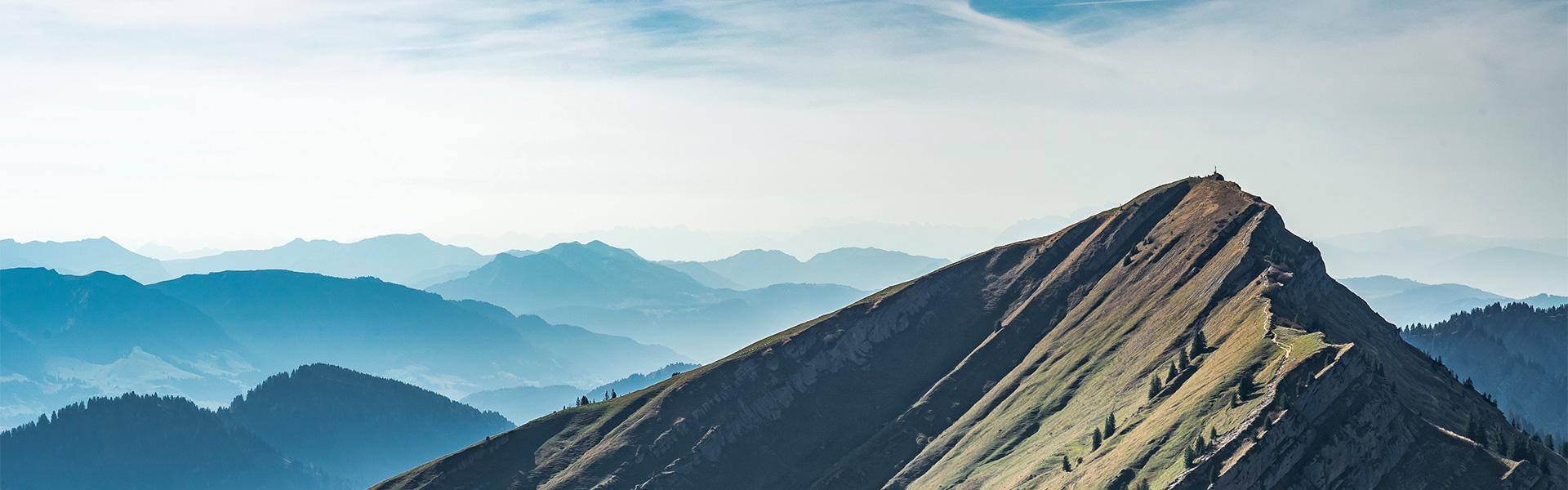 Panorama Bild Berge